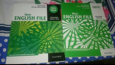Bakı şəhərində New English File Intermediate + workbook