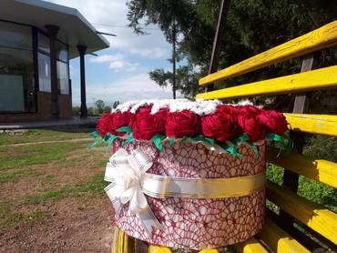 свадебные аксессуары ручной работы в Кыргызстан: Цветы ручной работы