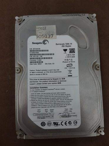 hdd-disk - Azərbaycan: Hard disk 250 Gbytes