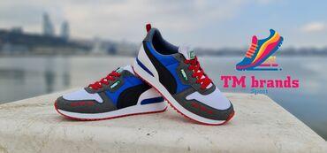 - Azərbaycan: Model : Puma Sneakers İstehsalçı ölkə : Türkiye Type: AA Class Qi