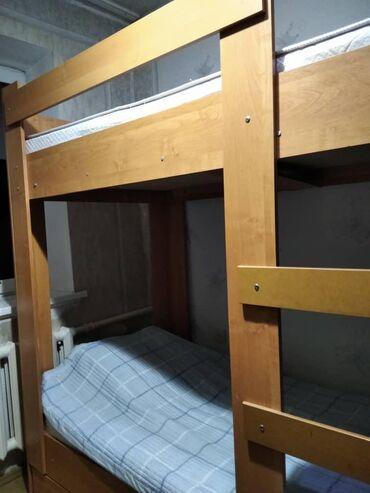 Двуспальные кровати - Кыргызстан: 2 этажная кровать Кара Балта 7000 т сом
