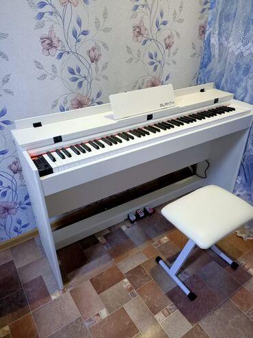 Пианино, фортепиано в Кыргызстан: Цифровое пианино, клавиши . 88 клавиш, 3 педали, в комплекте идут