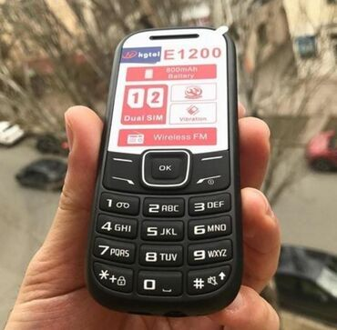 Elektronika Azərbaycanda: TELEFON 1200 Teze karopkada qeydiyyali 2.nomre chatdirioma