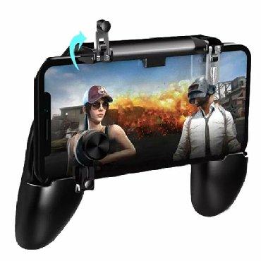 джойстики-геймпад в Кыргызстан: Геймпад W11+. Джойстик для PUBG mobile. Триггер. Есть в наличииКупи