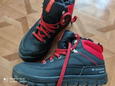Продаю утеплённые кроссовки/ботинки фирменные в отличном состоянии