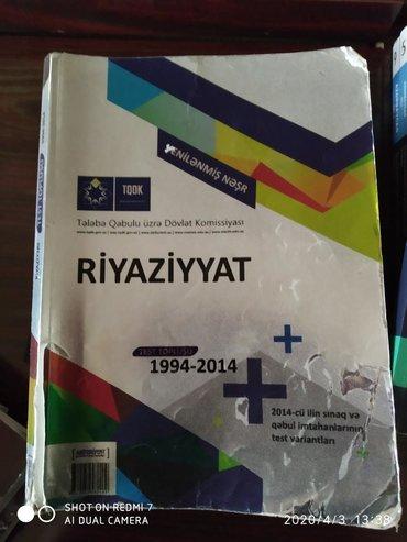 test-toplusu - Azərbaycan: Riyaziyyat test toplusu təzədir