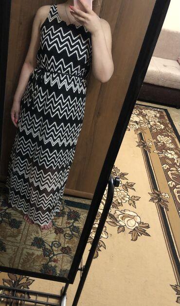 Платья 400 сом Длинный сарафан ( Турция/одевала один раз состояние ка