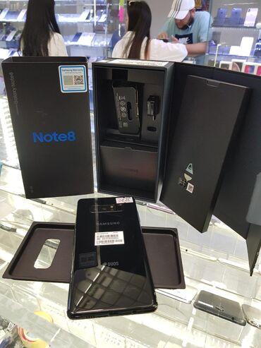 Новый Samsung Galaxy Note 8 128 ГБ Черный