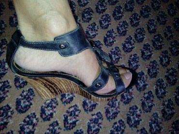 Sandale 38 br,plavo-siva boja  - Belgrade
