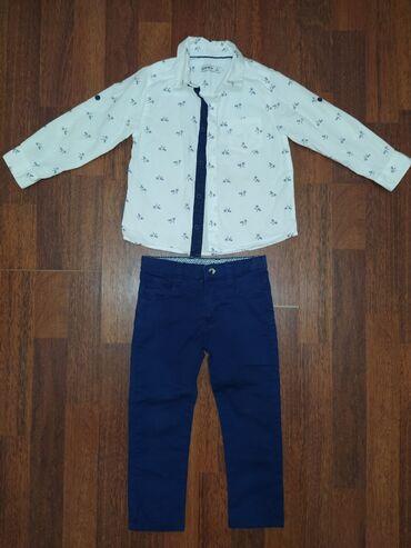 Брюки и рубашка Mamino на 2,5-3,5 лет. В идеальном состоянии! Надевали