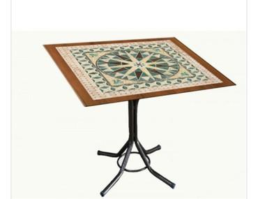 konstruktor mozaika - Azərbaycan: Stol mozaika 80 ×80 sm olcu catdirilma pulsuzdu weherdaxili anbardan