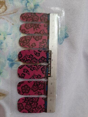 Личные вещи - Ала-Бука: Наклейки для ногтейАкция баары100сомдон. Эми маникюр жасоо онойНовинка