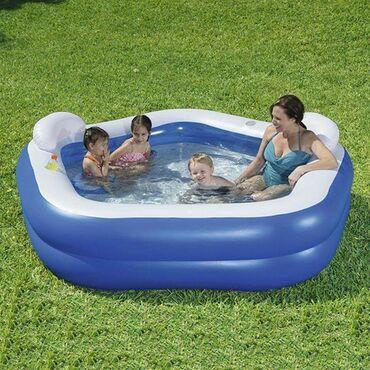 BESTWAY porodični bazen family fun 10.990 rsdDimenzije: 213x206x69