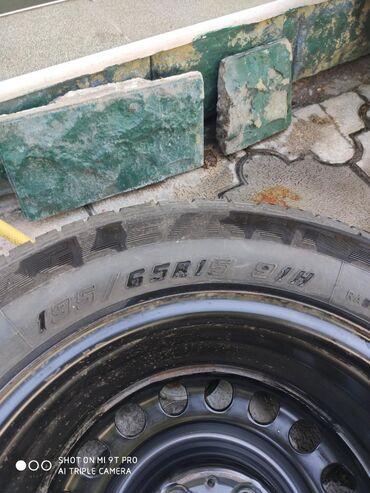 железные диски на 15 в Кыргызстан: Запаска с резиной на железном диске 6,5j*15 H2