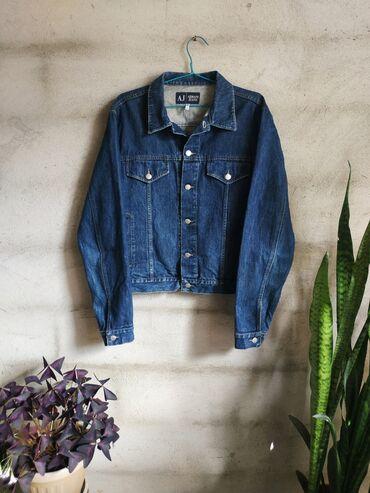 Джинсовая куртка. Джинсовка Armani Jeans. Сделано в Италии. Состояние
