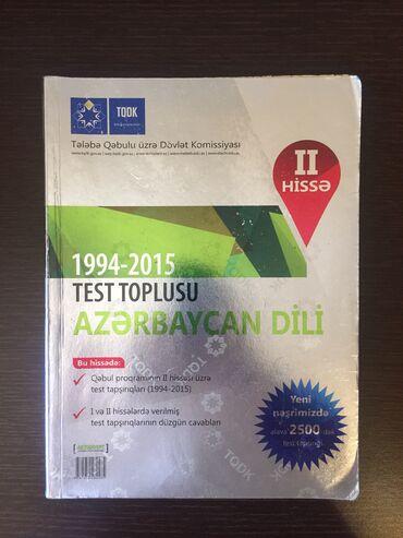 azerbaycan dili test toplusu pdf в Азербайджан: Azerbaycan dili test toplusu 2-ci hisse 3 azn