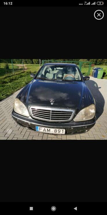 Mercedes-Benz s220 3,2 cdi sidi запчястьи с220 мерс Мерседес