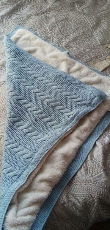 Другие товары для детей - Кыргызстан: Одеяло на выписку ребенка из роддома очень теплая производство Турция