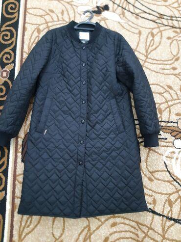 куртка russia в Кыргызстан: Демисезонная женская плащ куртка в отличном состоянии фирмы Mie