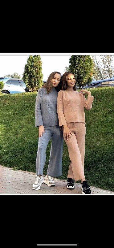 Туфли один раз одеты - Кыргызстан: Костюм персиковый двойка. Надевала один раз