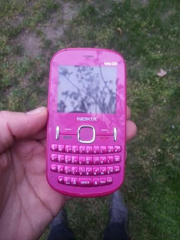 nokia-asha-200 в Азербайджан: Nokia asha 200 platada problem var qalan hersey islekdi korpusuda yax