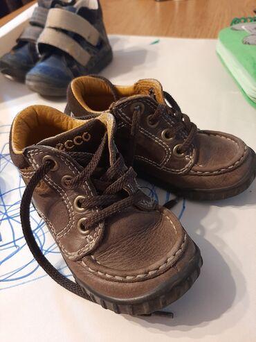 ecco zimnie в Кыргызстан: Детские кожаные ботинки фирмы ecco, размер 22-23. Очень удобные