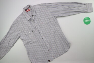 Чоловіча сорочка у смужку Pierre Cardin р. L    Довжина: 73 см Ширина
