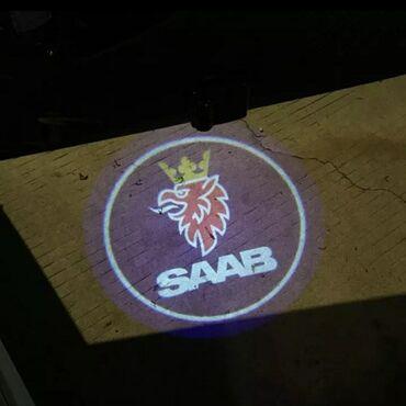 Lunar led - Beograd: Led logo projector laser za vrata SAAB univerzalniNOVI SAAB led