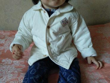 Продам курточку на малышку с 6-12 мес. Писать в whatsapp. в Бишкек