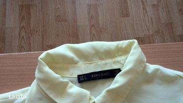 Košulje i bluze | Pozega: SNIZENOO!!! Zara zuta kosuljica s broj