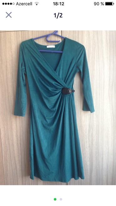прихожая под заказ в Азербайджан: Новое платье Promod pp m материал под замшу
