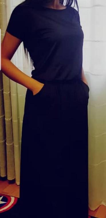 черное платье турция в Кыргызстан: Продаю черное платье .Производство Турция.Размер 36 .Цена 1200