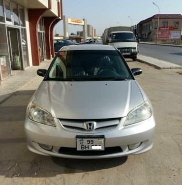 аренда хонда фит для такси в Азербайджан: Honda Civic 2005