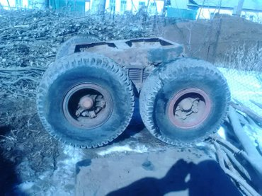 Т-150.телега от притцепа.35000сом.Джети огуз.Саруу.  в Кызыл-Суу
