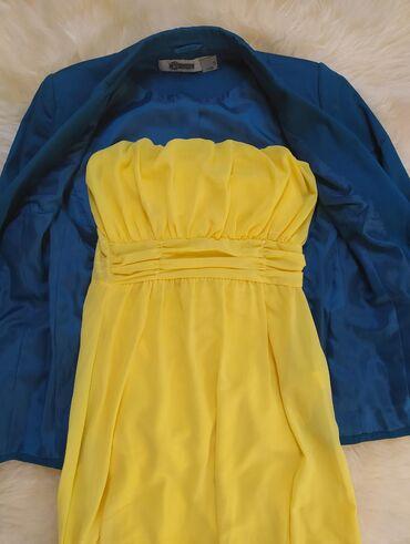 Preko grudi - Srbija: Haljina je apsolutno nova, nikada obučena. Ima sunđere za grudi, tako