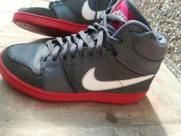 Bez cipele - Srbija: Nike patike obuvene svega par puta, u odličnom stanju, bez ikakvih