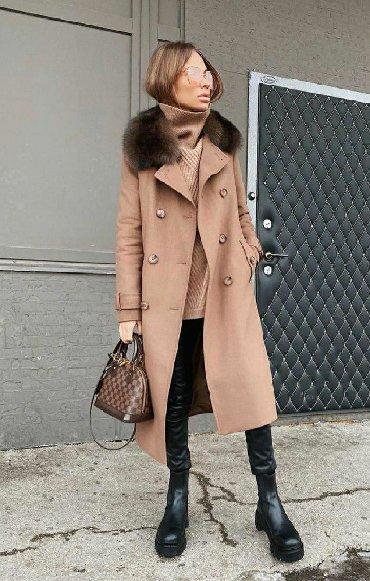 женские бюстгальтеры с плотной чашкой в Азербайджан: Женское пальто с натуральным мехом норки! Мех отстёгивается! Шикарная