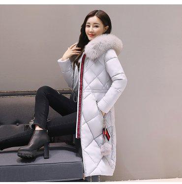 Зимняя женская куртка с меховым в Бишкек