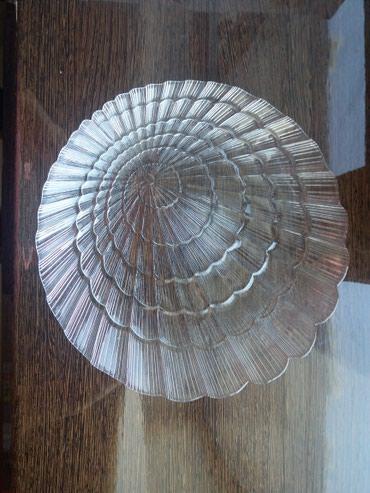 stekljannuju vazu pasabahce в Кыргызстан: Обеденные тарелки из стекла. Новый набор из 6 шт. Диаметр 24 см