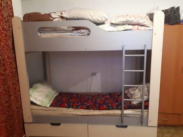 Продаю 2-ярусную кровать срочно! в Бишкек
