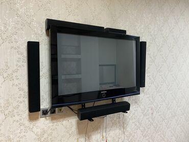 Телевизор Samsung  Продаю вместе с колонками и подставками/ножками