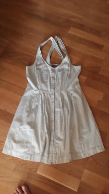 Ostalo | Varvarin: Tanak teksas,kratka haljina velicina 40/42 markirano