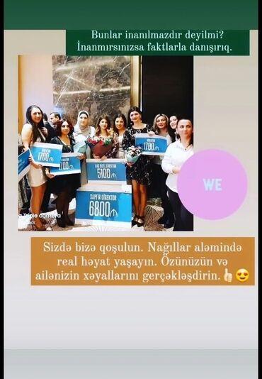 Əməkdaş axtarışı (vakansiyalar) - Azərbaycan: Şəbəkə marketinqi məsləhətçisi. Oriflame. İstənilən yaş. Natamam iş günü. Nərimanov r-nu