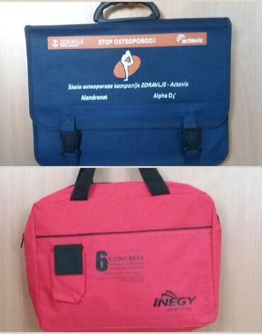 Torba za laptop - Srbija: 2 torbe za 450 din. : 1. Teget plava, čvrsta, 37x27x5 cm. Veoma
