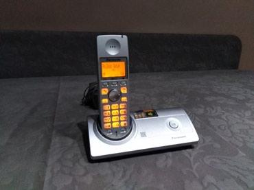 Dobar Panasonic bezicni fiksni telefon.. - Kraljevo