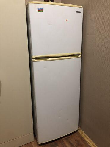 Samsung mega - Азербайджан: Б/у Двухкамерный Белый холодильник Samsung
