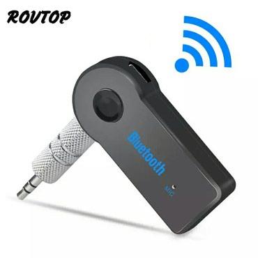 Bakı şəhərində AUX Bluetooth Qəbuledici Bluetooth ilə qoşulur və musiqini,