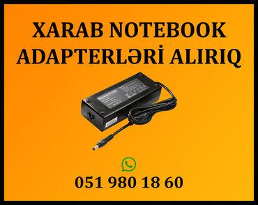avro təmiri - Azərbaycan: Xarab notebook adapterləri alırıqNoutbukların təmiri (platası yanmış