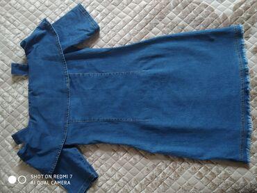 Джинсы 25 р - 350сом состояние идеальное, платье джинсовое новое