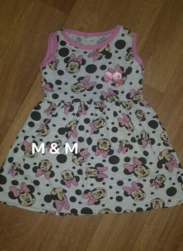 Ostalo | Lajkovac: Predivne minnie mouse haljinice, brušeni pamuk.Dostupne veličine 2